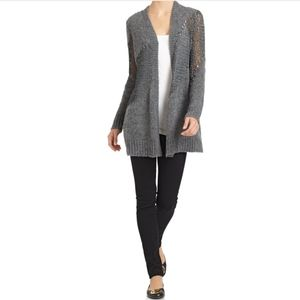 ❌SOLD❌EILEEN FISHER| Grey Knit Cardigan PM